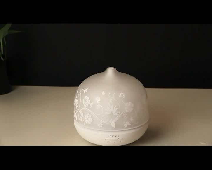 Hot Sale High Quality 500ml Oil Aroma Diffuser with Timer 2189E