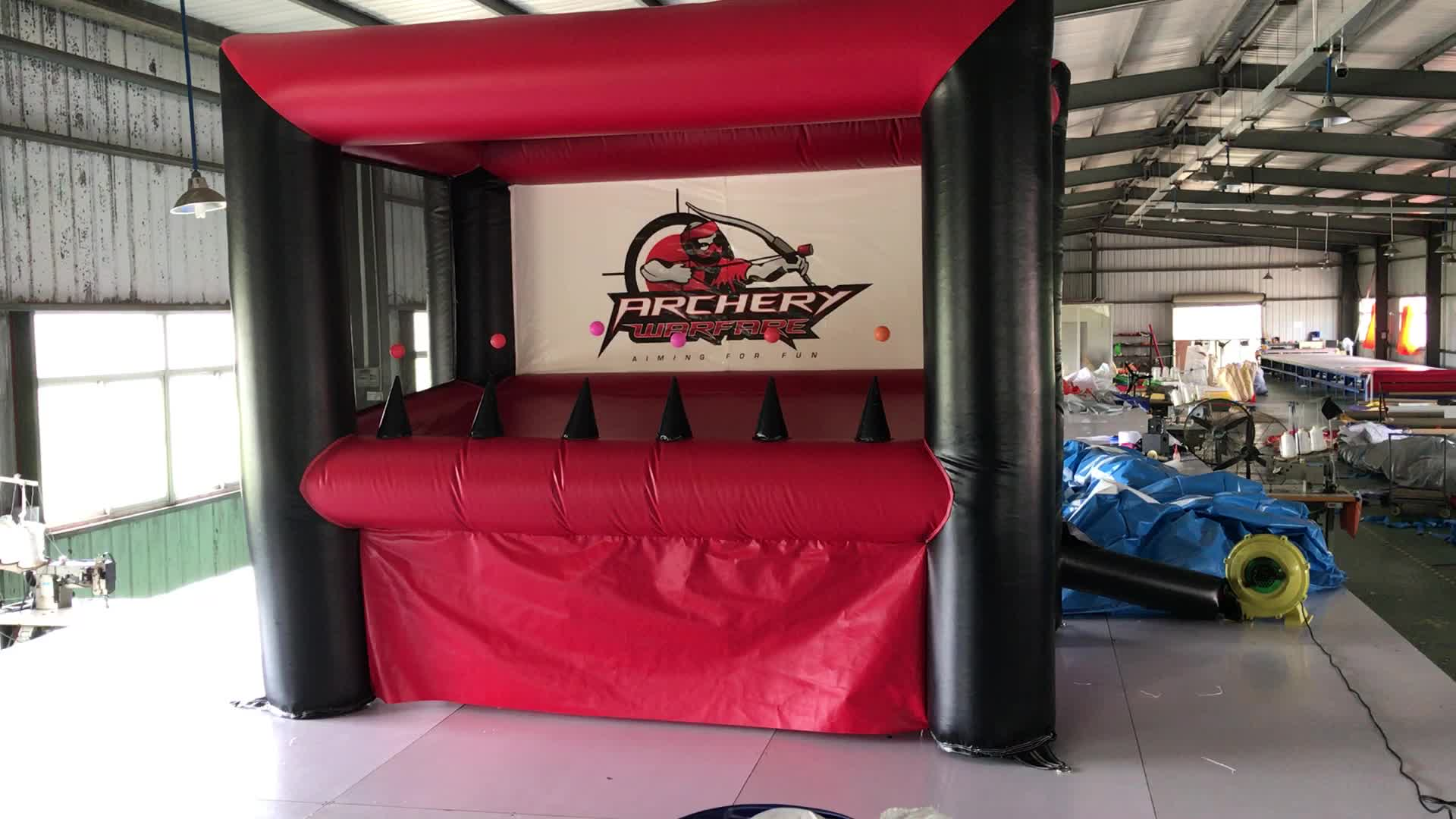 2019 JPF inflatable archery tag target for hover ball game