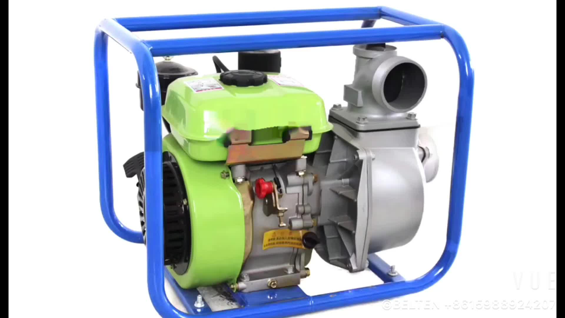 ฮอนด้าเครื่องยนต์ดีเซลปั๊มน้ำชลประทาน