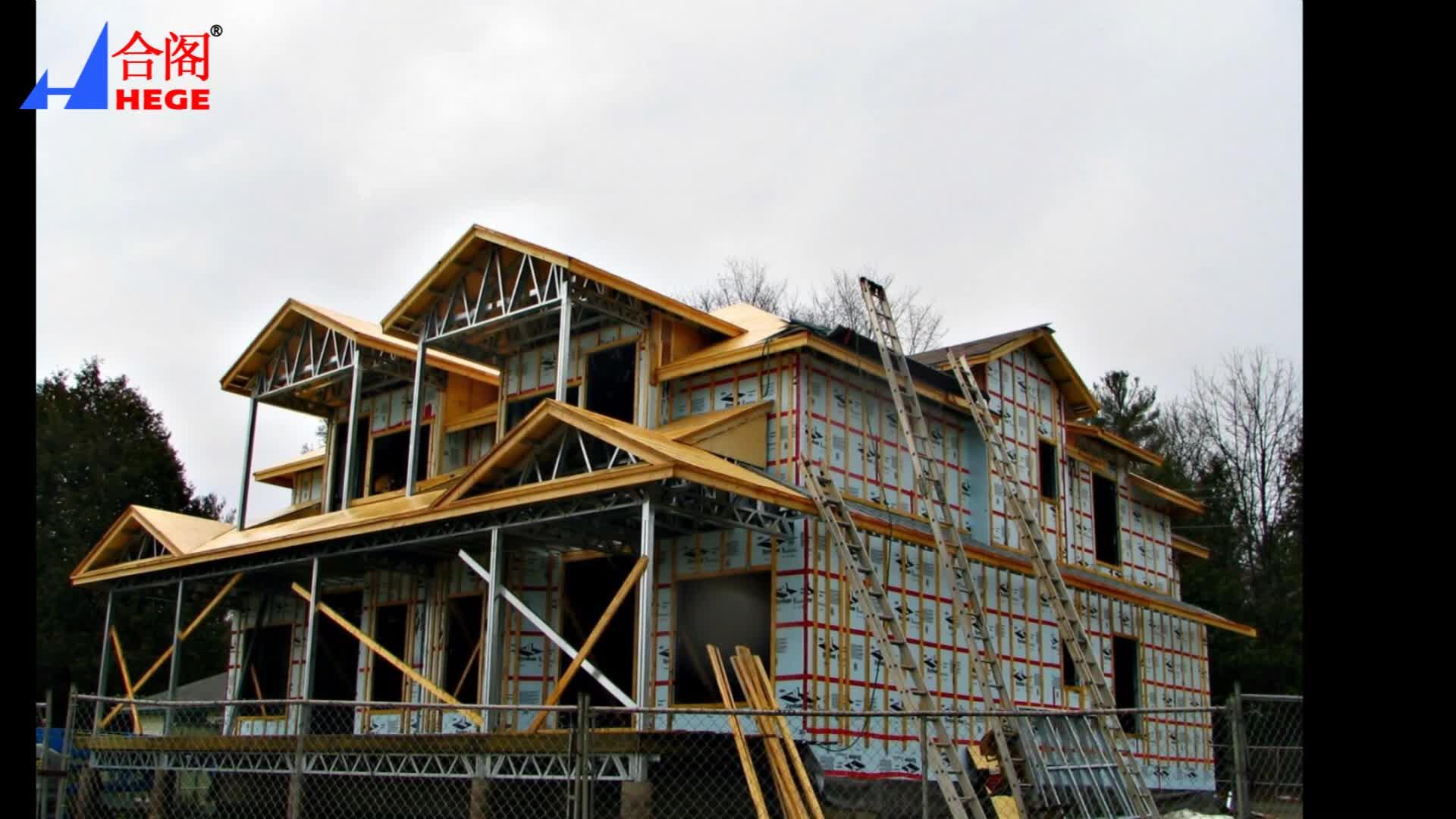 Leichte stahlkonstruktion fertighaus und büro und shop und werkstatt und lager