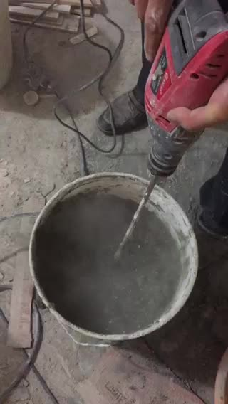 Waterproofing Stone Adhesive used directly onto the old tiles