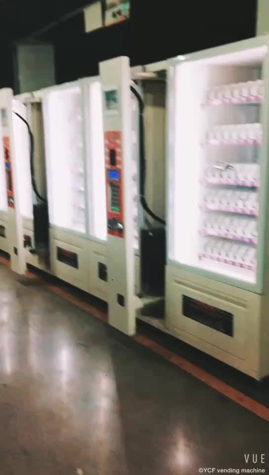 (VMNT-T2)Cup noodles/chocolate bar/beverage vending machine with note and coin acceptor