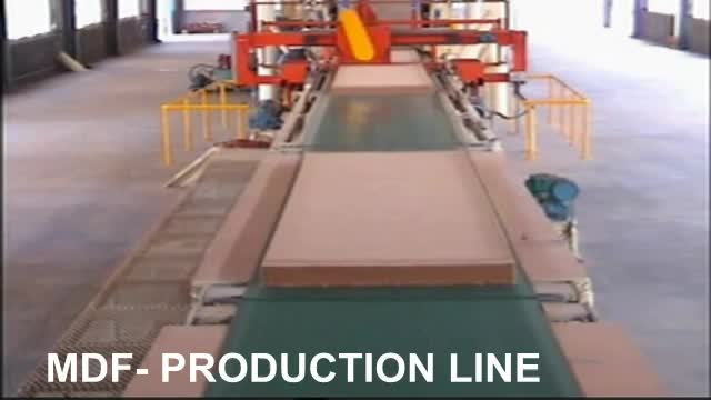 2018 newest MDF production line /HDF production line / MDF making machine