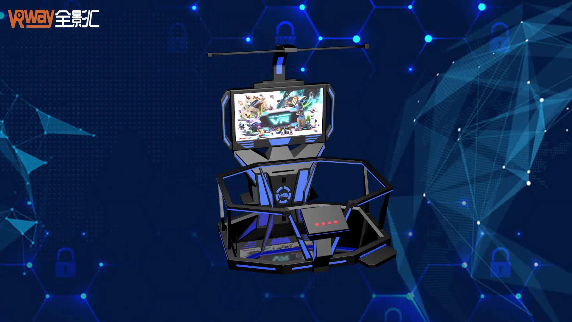 טכנולוגית מיקום מדויקת מאוד 9D סימולטור משחק 3D 5D הליכה סימולטור VR VR VR