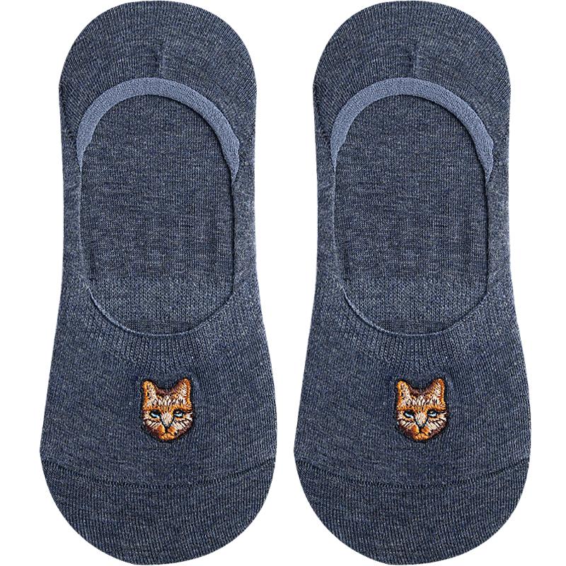 袜子女ins潮可爱短袜船袜纯棉浅口夏季薄款隐形袜硅胶防滑不掉跟