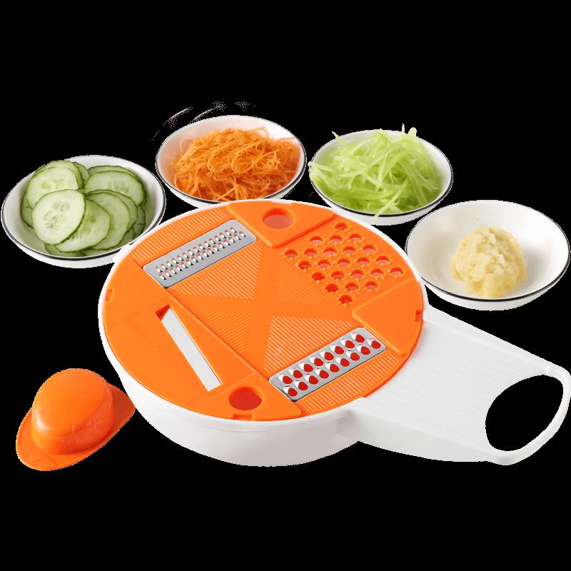 家用多功能土豆丝切丝器萝卜刨丝擦丝切片插菜板厨房用品切菜神器