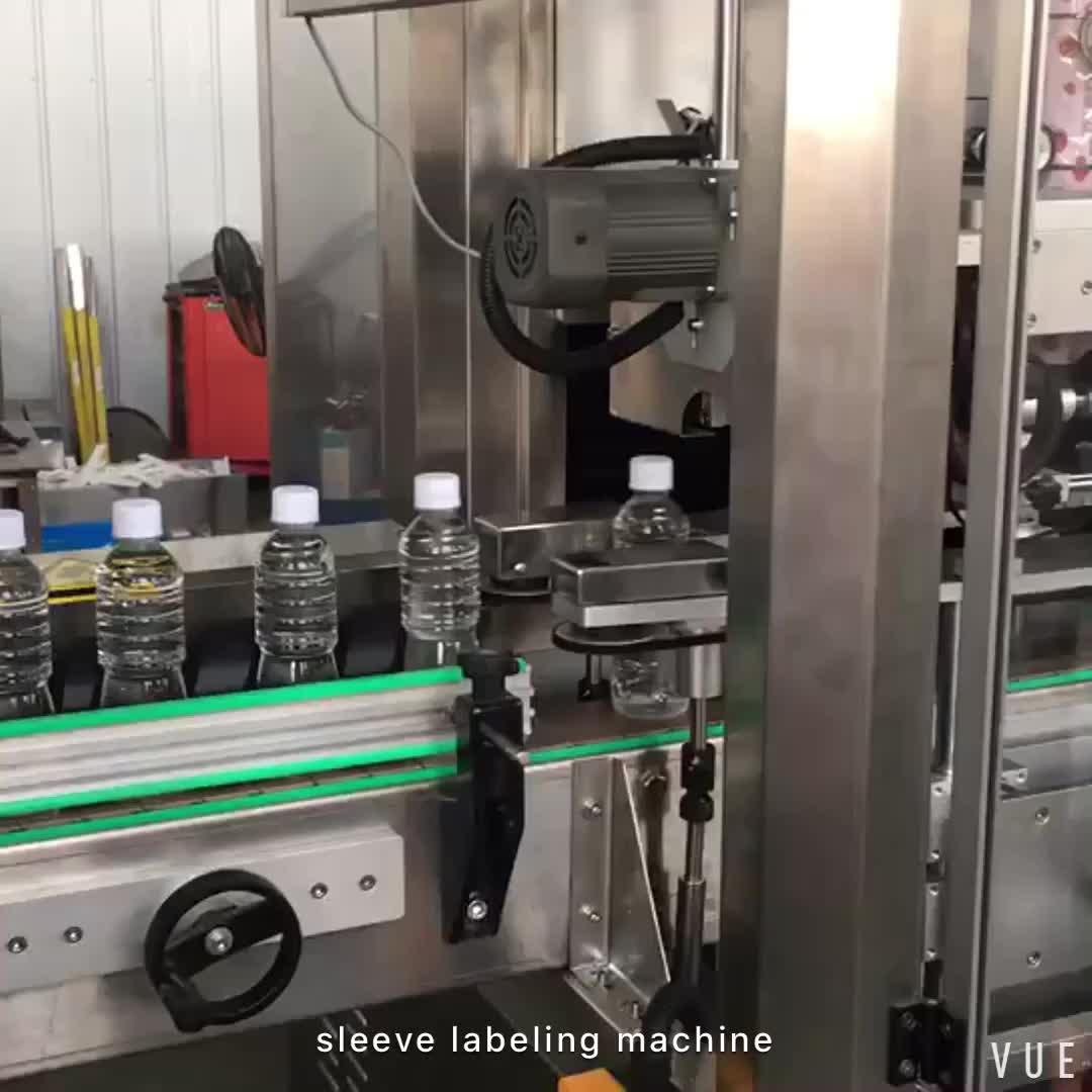 Good quality PET shrink sleeve labeling machine / lable applicator