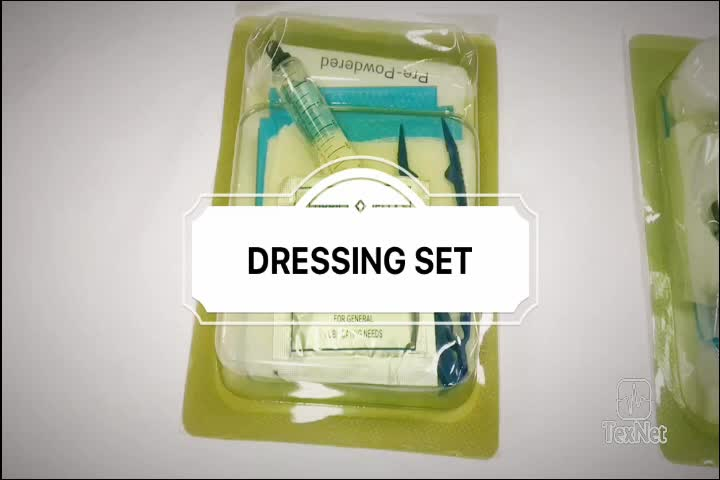 Reasonable Price Hot Selling disposable sterile dressing set