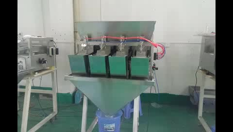 2017 HOTSELLING 4 head 4L portion weight filler