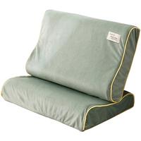 乳胶枕套一对装珊瑚绒单人枕头套单个40x60儿童30x50橡胶记忆枕套