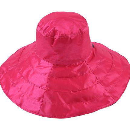 夏天防紫外线遮脸百搭折叠沙滩帽