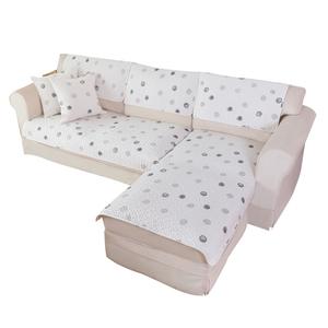 猫岛纯棉夏季高档防滑垫布沙发垫