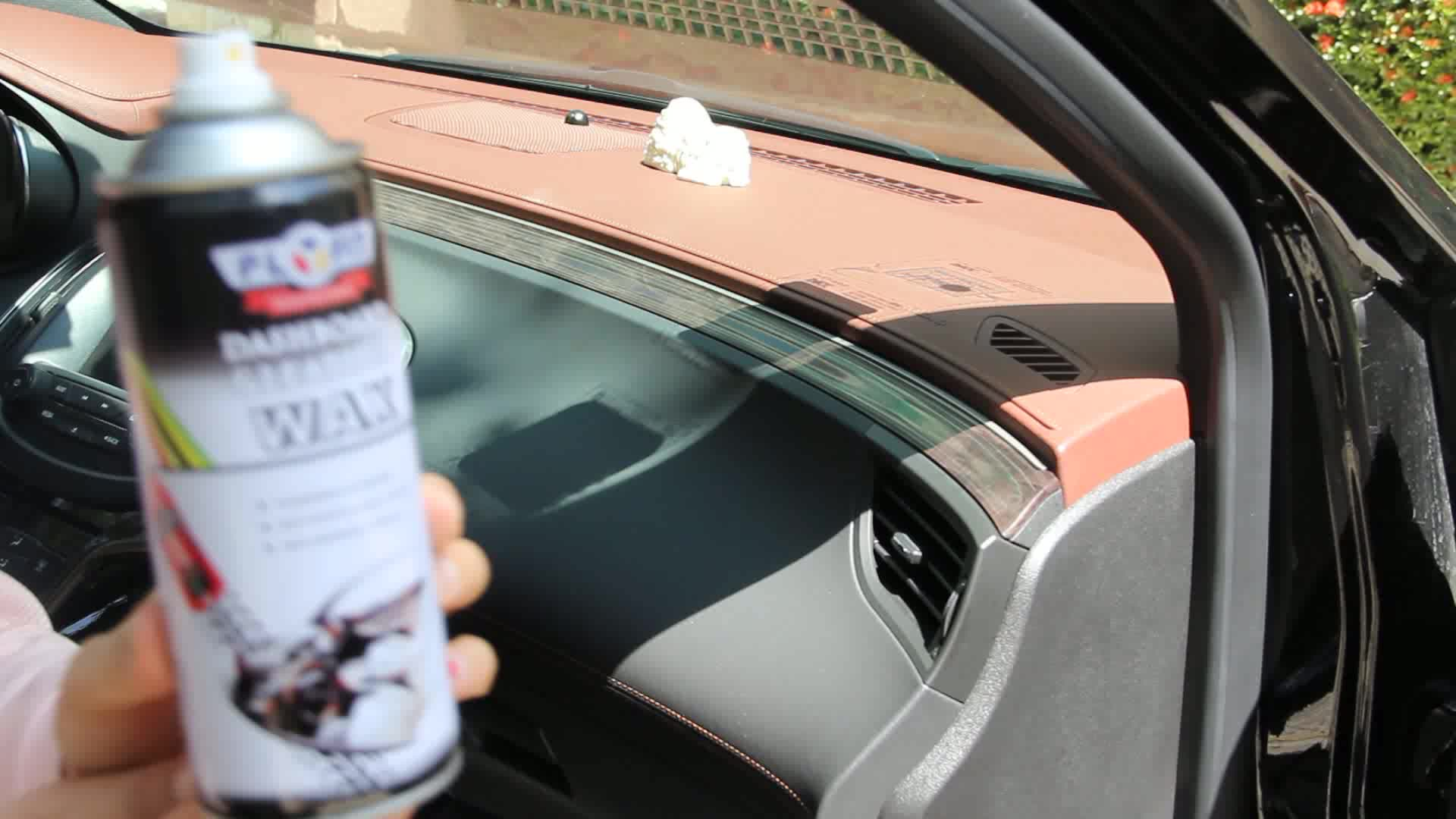 400ml Car Dashboard Polish Shine Spray Wax