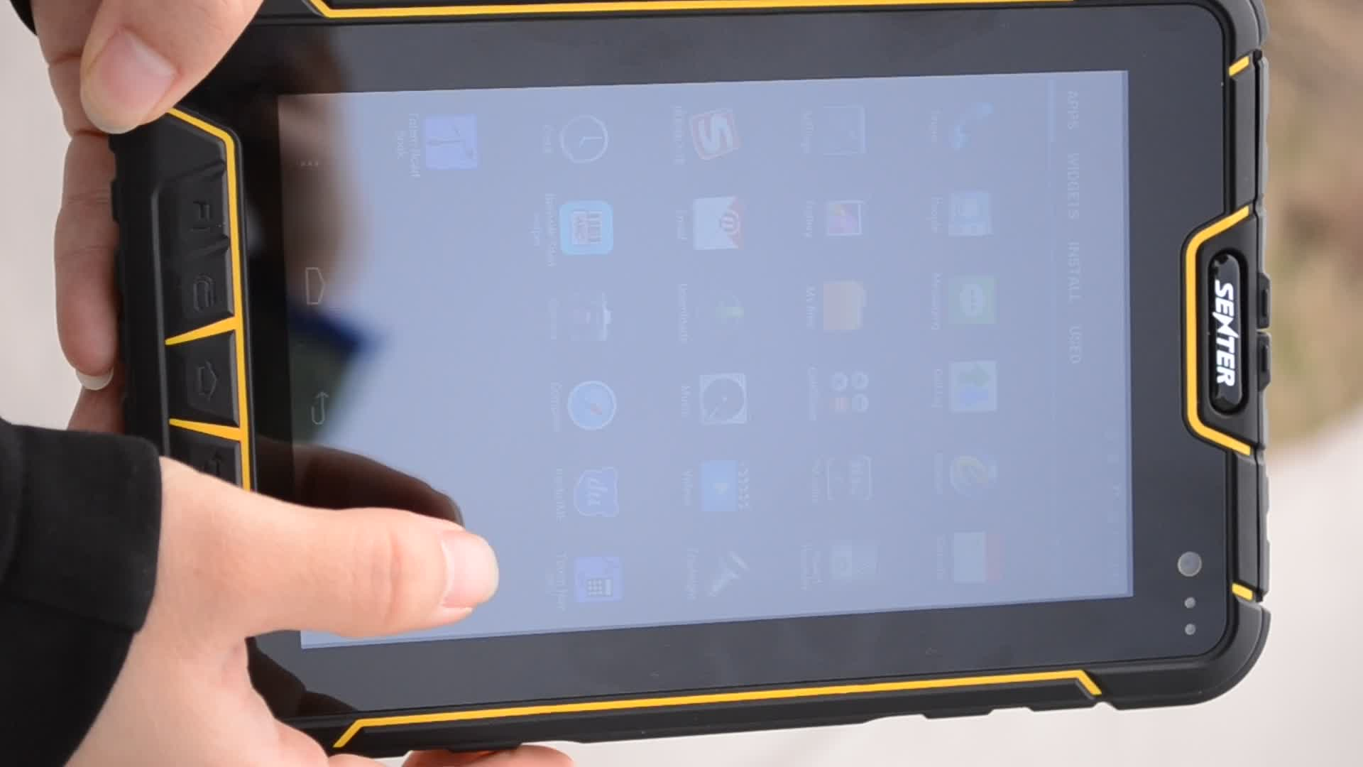 St907 7 Inch Android Rugged Tablet Pc 4g Bluetooth Gps Wifi