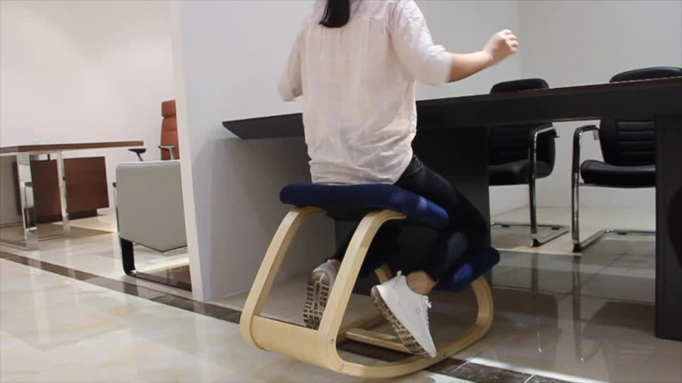 Correcting Siting Position Ergonomic Kneeling Chair With Weight