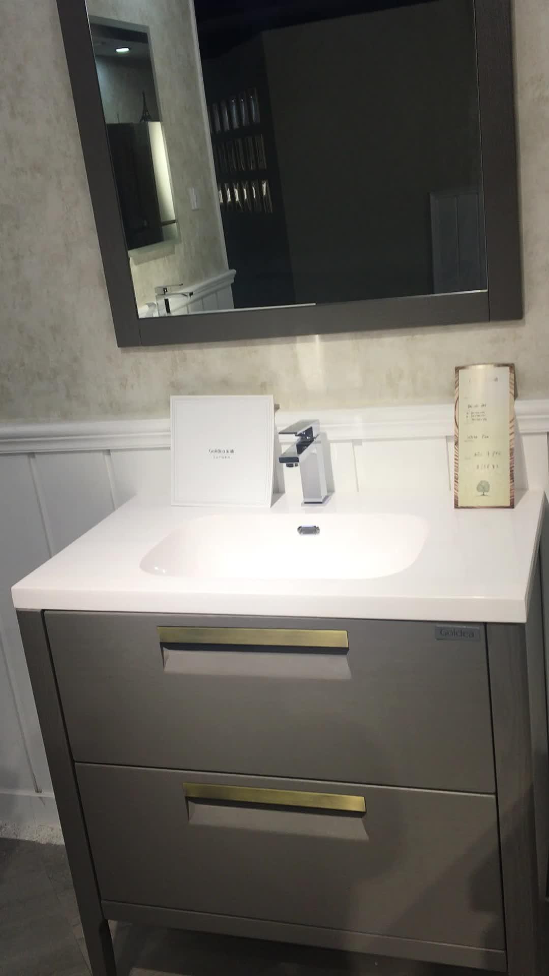 Goldea 72 Inch Bathroom Vanity / Custom Bathroom Vanity / Solid Wood ...