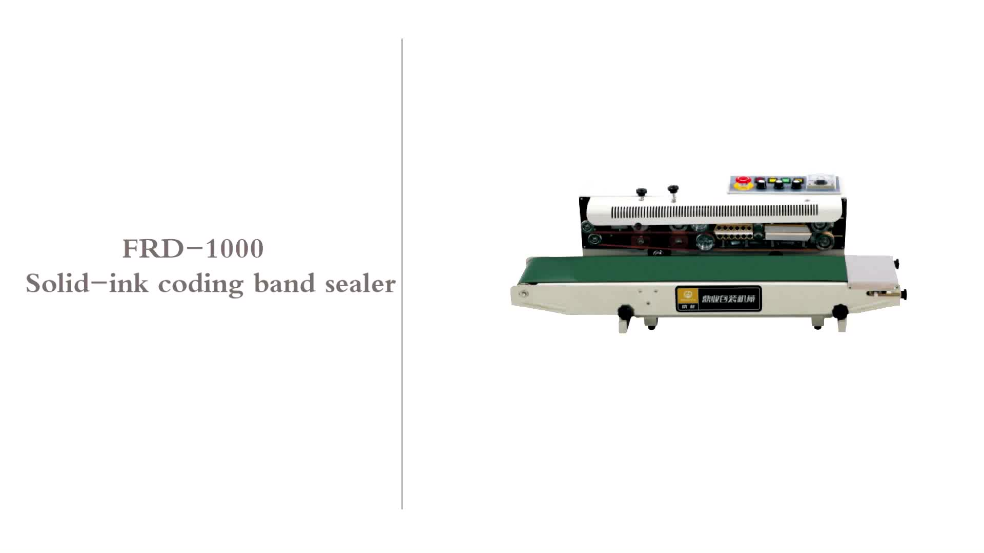 Frd-1000 Solid-ink Coding Band Sealer With Printing - Buy ...