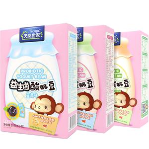 天然世家3盒装宝宝零食酸奶溶豆