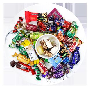 俄罗斯进口过年货节紫皮巧克力礼盒