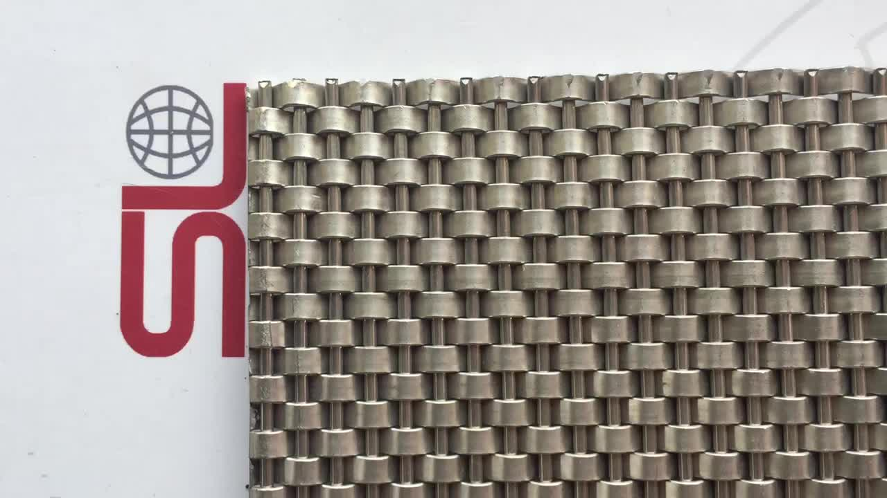 Shuolong Mesh Rigid Series XY-1405 Stainless Steel Decorative Wire Screen for Ceiling
