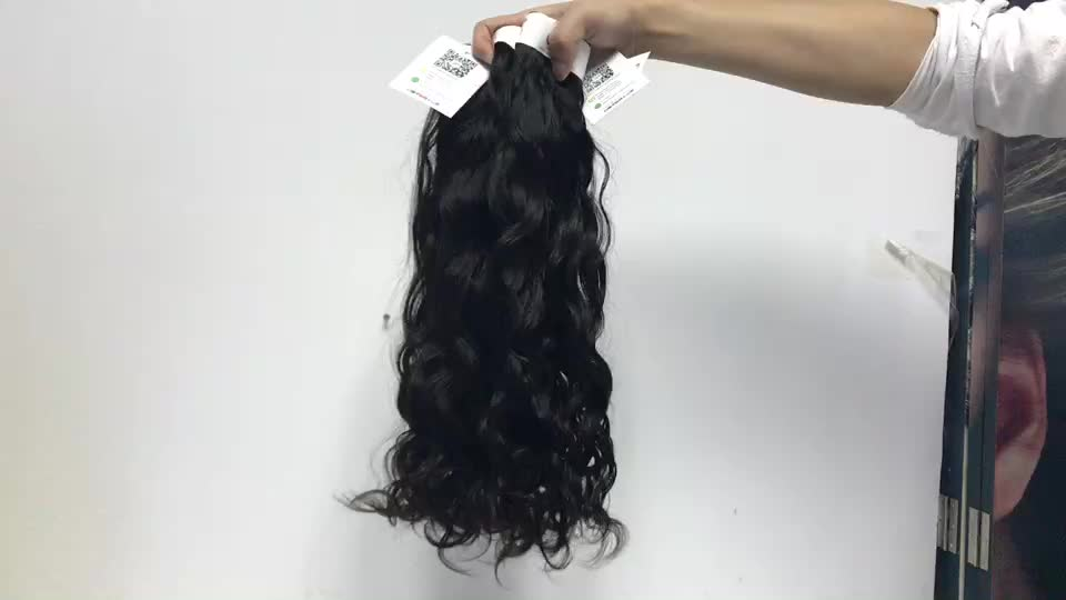 Malaysian Human Hair Weave Bundle , Buy Bulk Water Wave Virgin Remy Hair Extension For Sale In Zambia