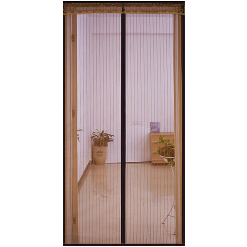 防蚊门帘魔术贴夏季家用磁性高档纱门纱窗磁铁对吸隔断帘免打孔
