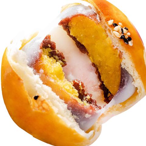 蛋黄酥雪媚娘紫薯豆沙糕点网红手工零食休闲早餐小吃比轩妈家好吃