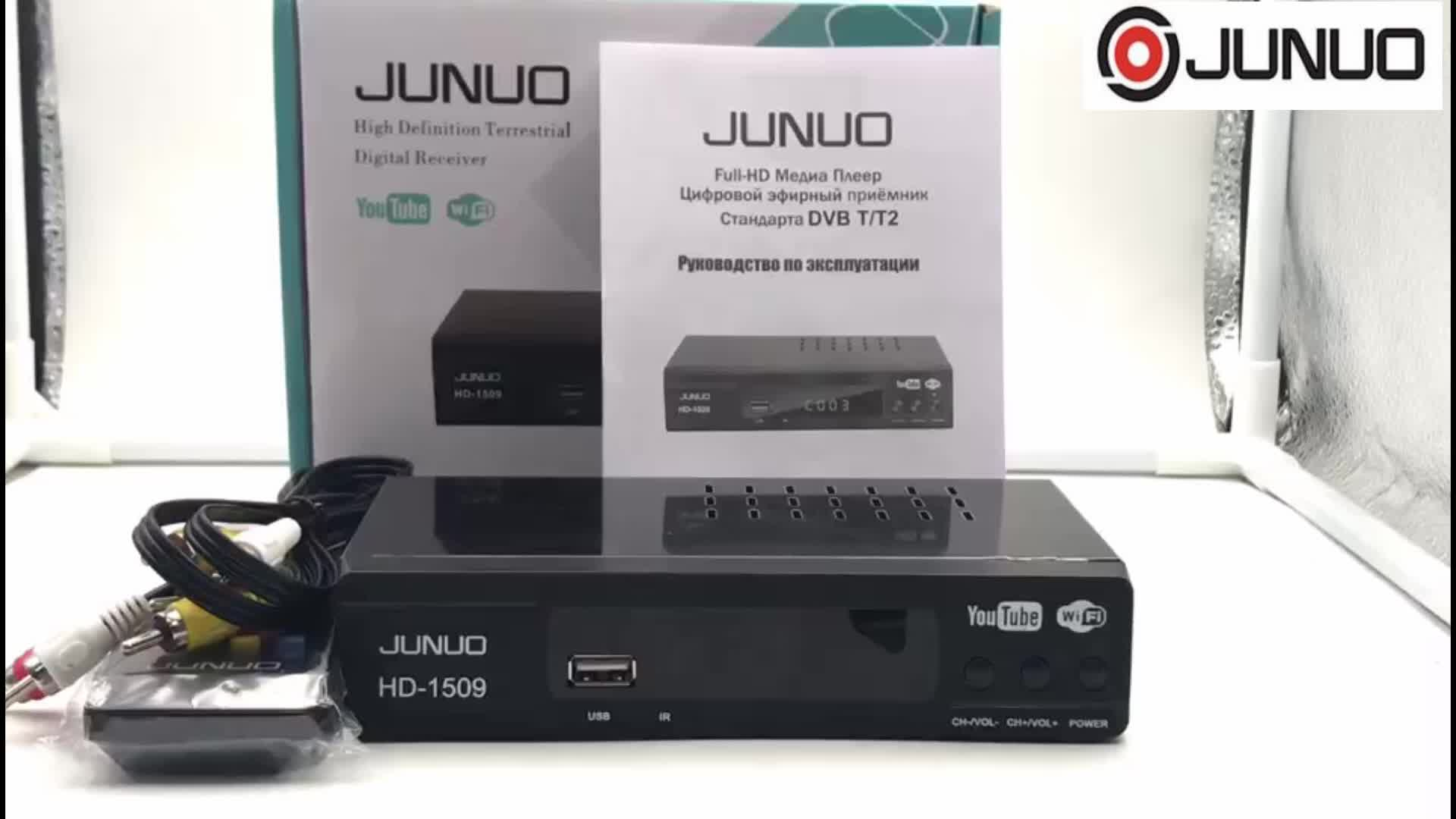 junuo professional set top box firmware upgrade dvb t full hd 1080p dvb t2 set top box ghana Uzbekistan