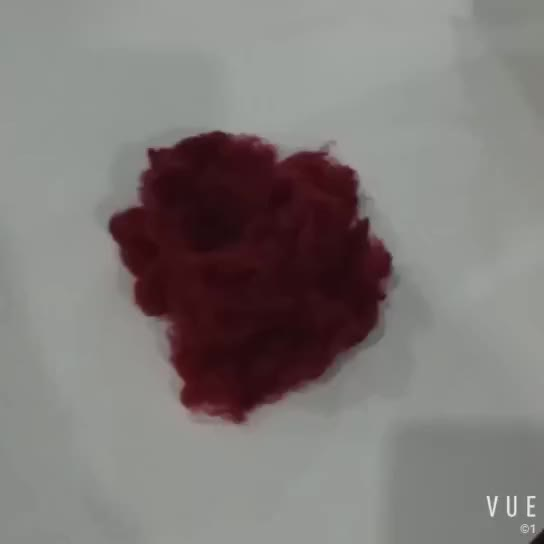100% hollow conjugated siliconized polyester fiber