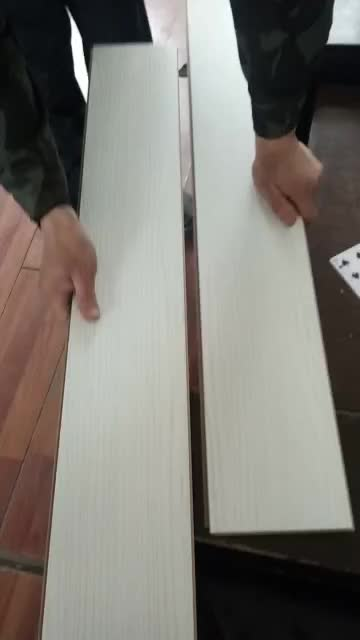 matte non slip castle oak laminate flooring wood look ac4 hdf For Residential & Commercial Use