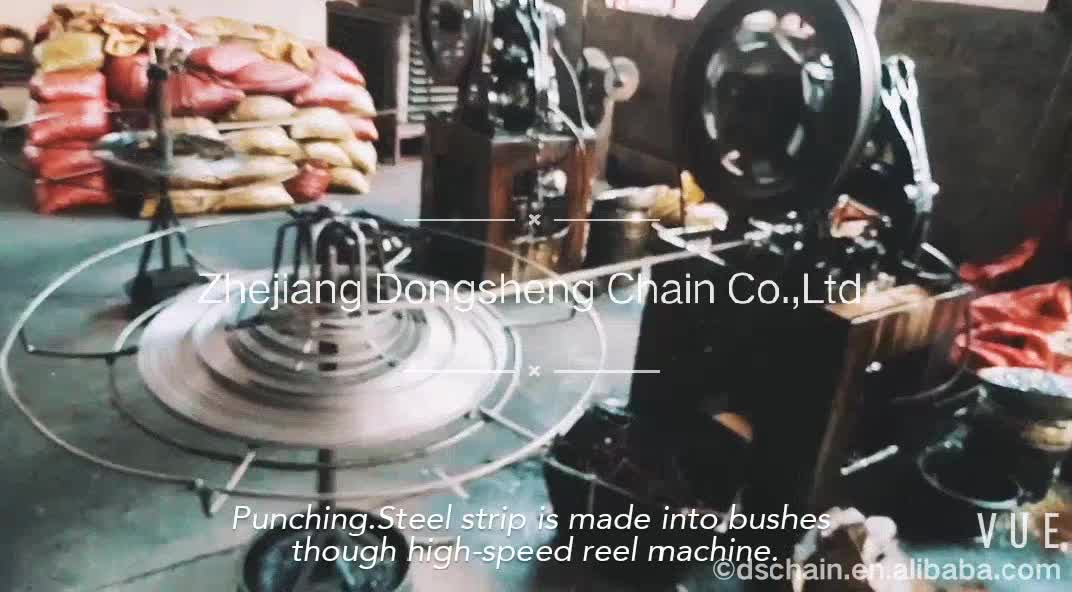 A series OEM & ODM durable alloy 60H or 12AH High breaking strength Short Pitch Drive roller Chain