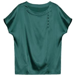 女款夏装2021新款冰丝短装配雪纺衫