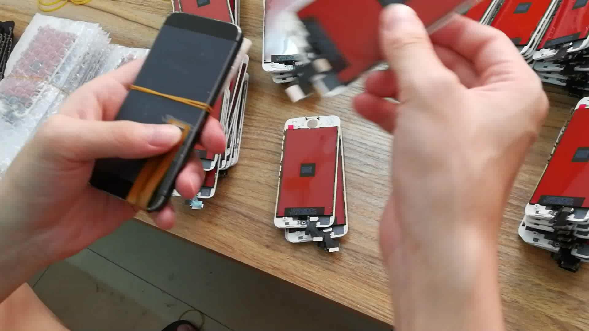 Telefone lcd para iphone7 profissional mais lcd com digitador assembléia
