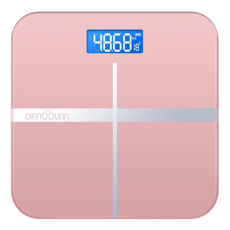 电子秤体重秤家用小型成人高精度充电款庭女生宿舍精准人体计称重