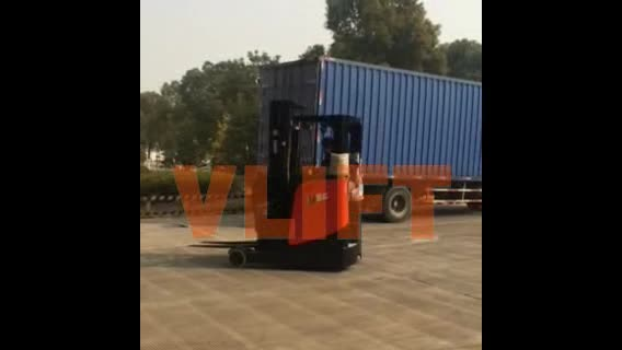 2 Ton Walk Behind Pallet Stacker Electric Forklift Price 1: 2 Ton 7m Electric Sit-down Reach Forklift With 3 Stage