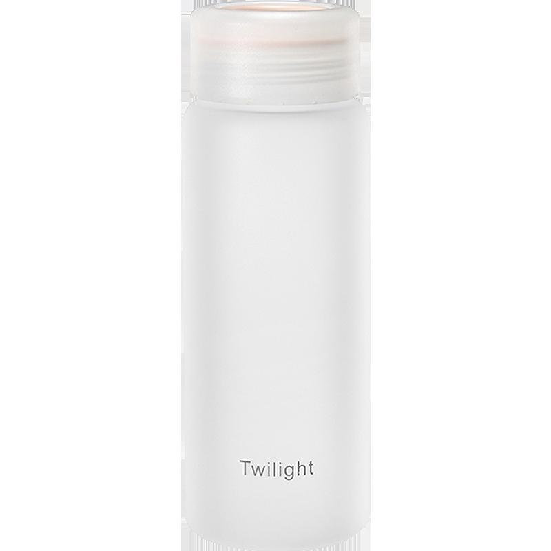 磨砂玻璃杯清新简约森系水杯子ins便携可爱少女水瓶创意个性潮流
