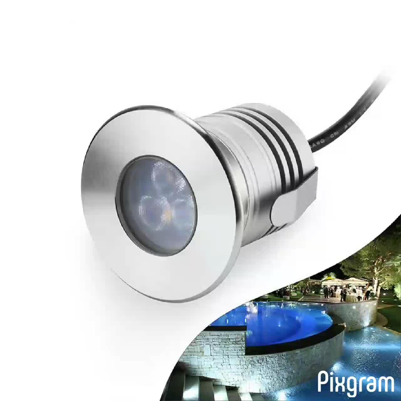 IP68 Lanscape underwater led fountain light
