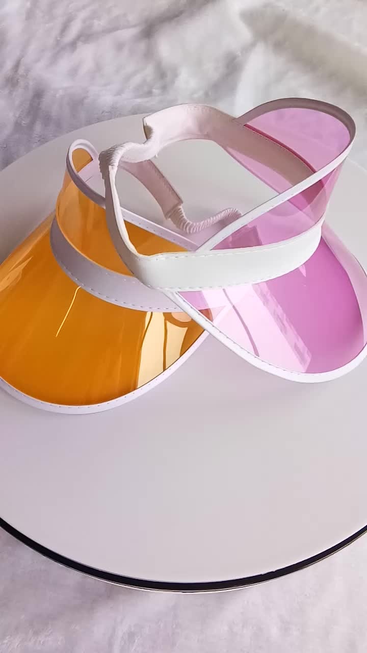 Summer Promotional Custom Plastic Sun Visors Hats Buy