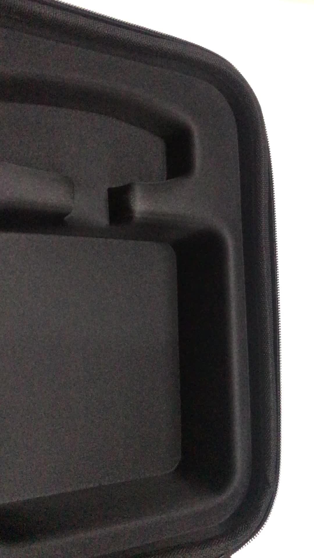 Blue color rectangle shape easy storage zipper closure eva case for tool sets