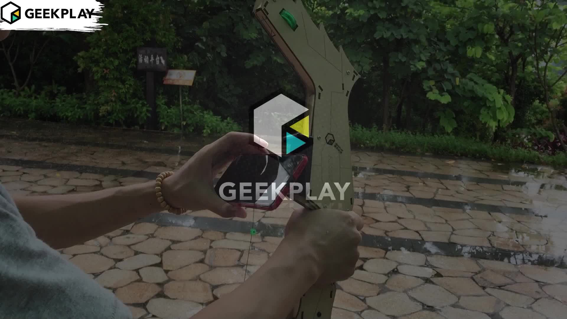Augmented Reality 4D AR archer equipment creativity intelligence kids toys