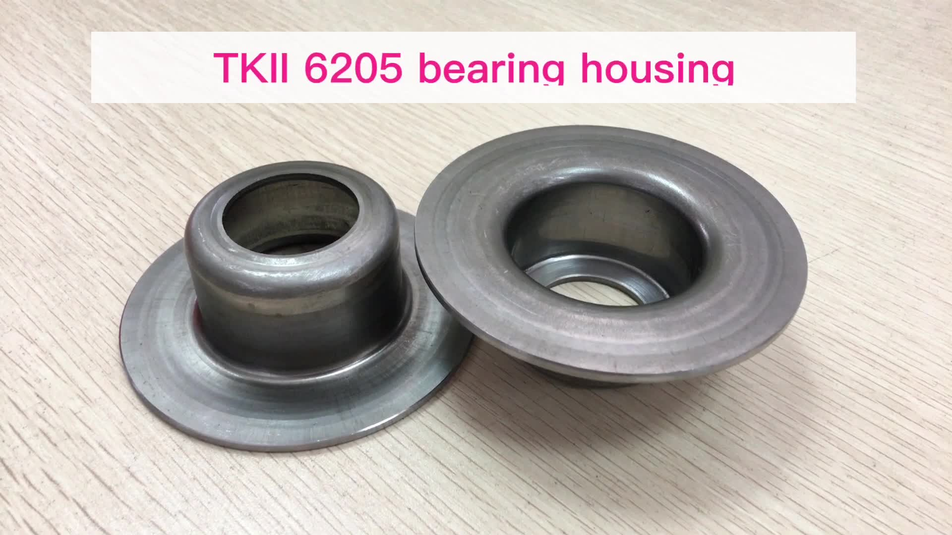 TK2 type high quality conveyor roller bearing housing/end cap on sale for pipe 102mm/shaft 25 mm