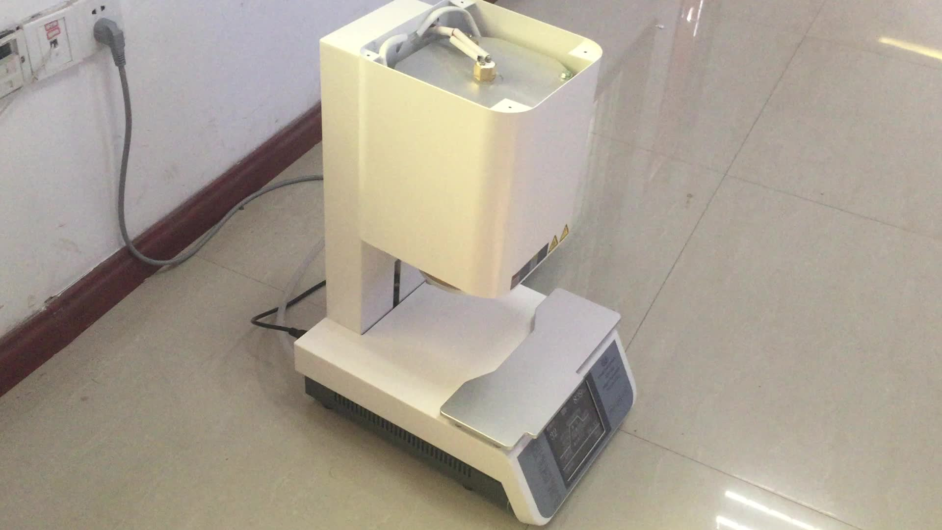 1200 Degree Dental Vacuum Porcelain Furnace For Sintering