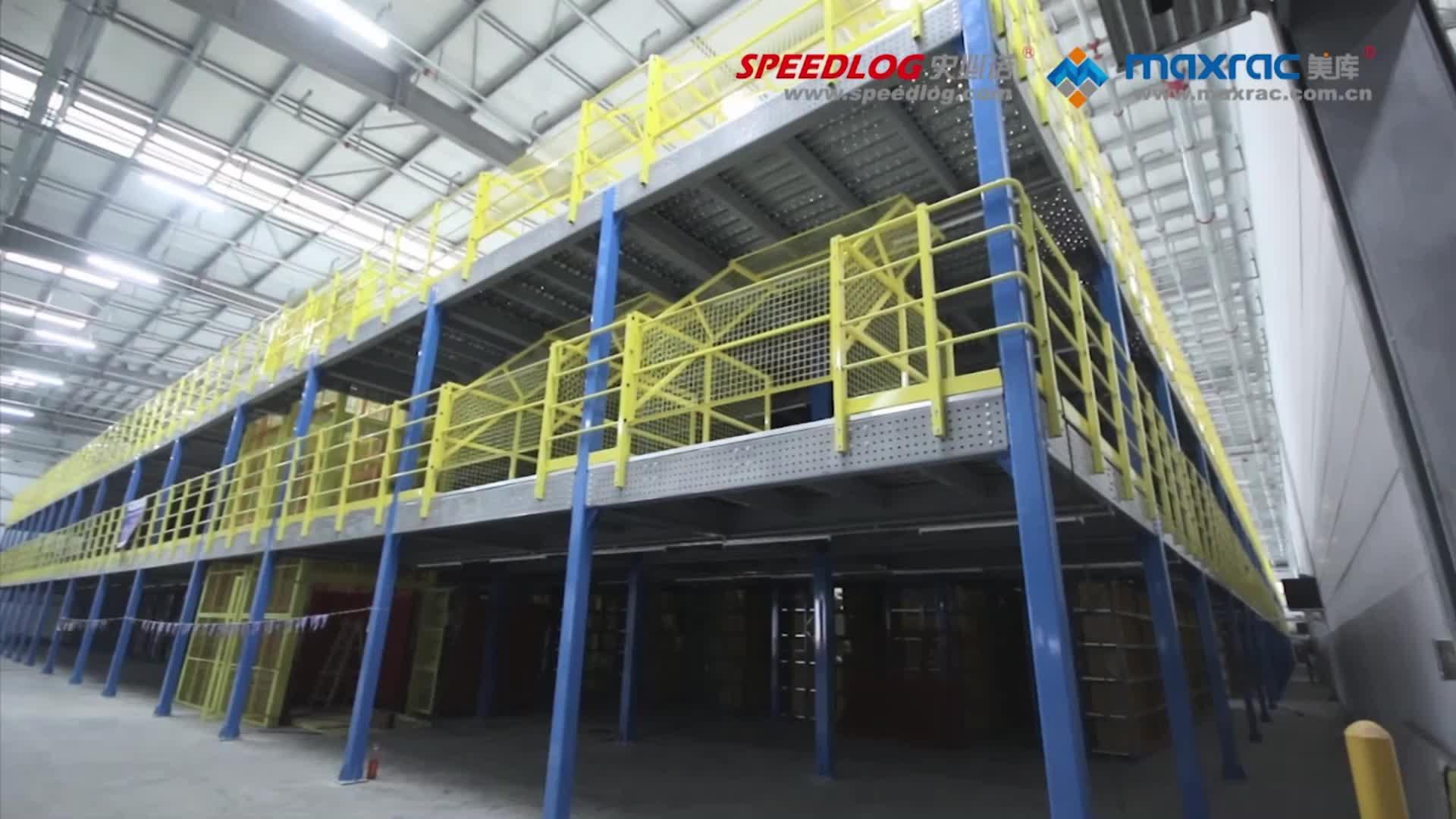 FEM Heavy Duty Steel Mezzanine Floor Mezzanine Racking Systems