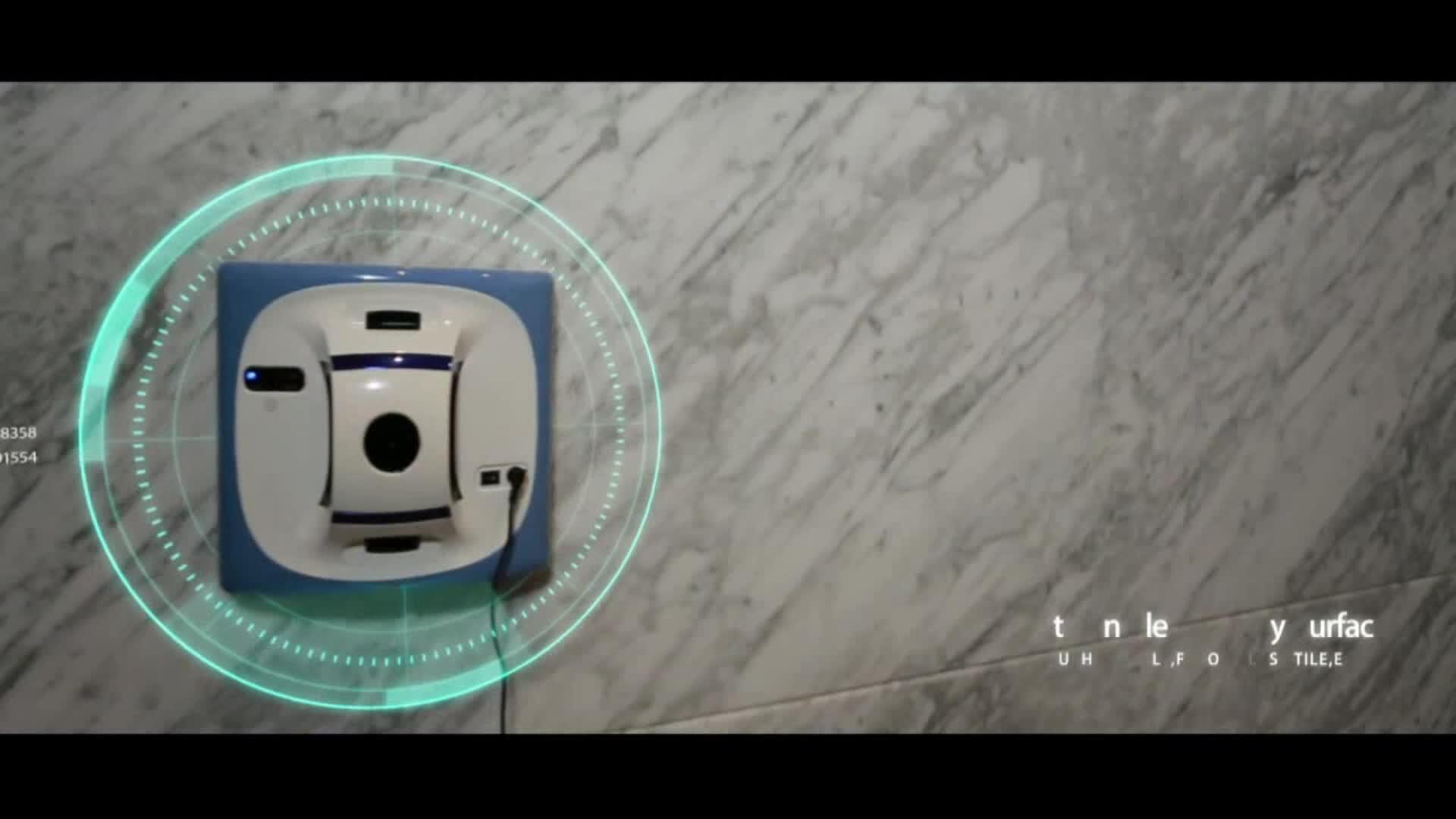 警官ローズ X6 ロボット窓クリーナーロボット掃除フレームミラー窓ガラスドア洗濯