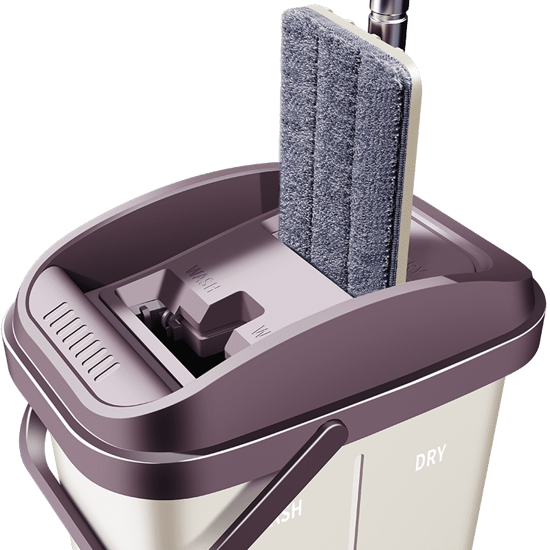 佳帮手刮刮乐拖把家用平板旋转免手洗干湿两用懒人地拖布拖地神器