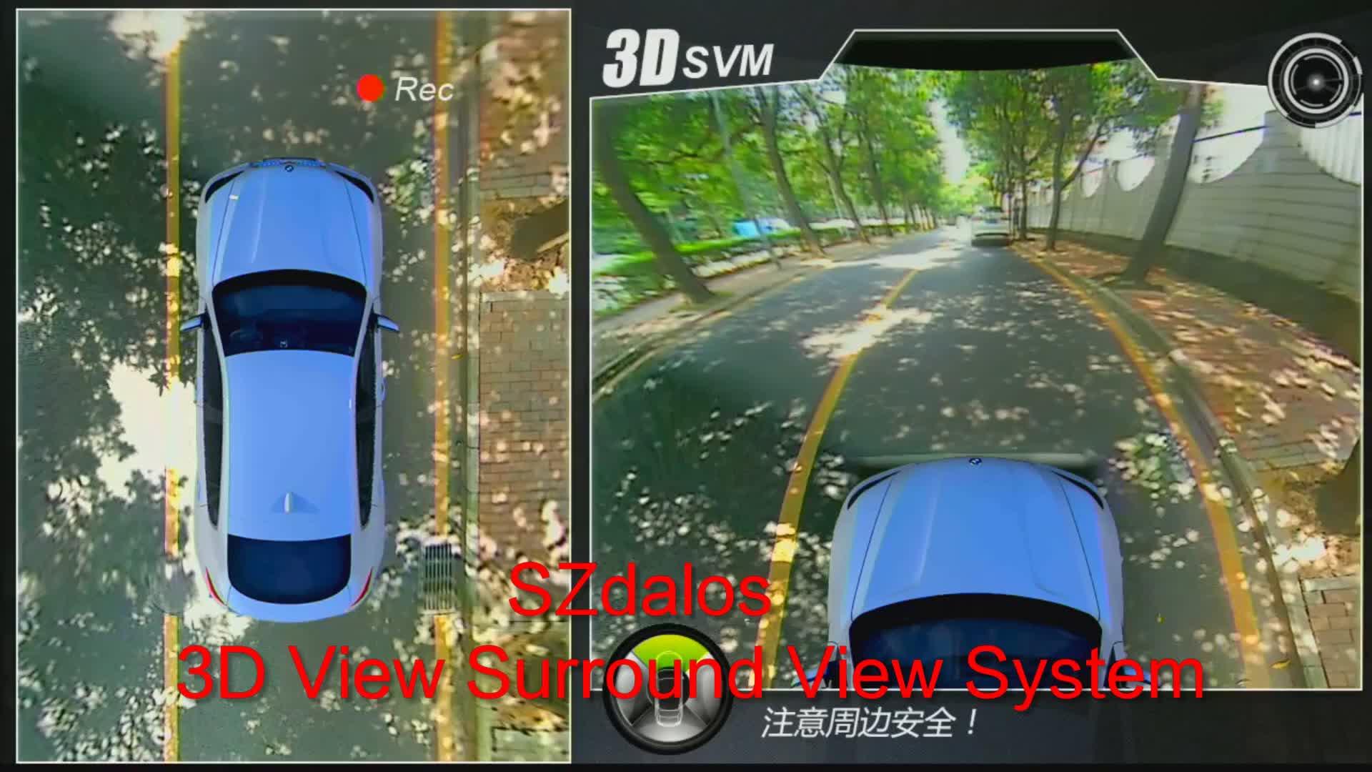 HD Panorama 360 Bird View Truck Achteruitrijcamera DVR Camera Auto Systeem voor Truck en Bus