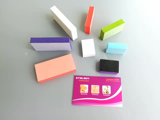 Nail Salon Disposable Nail File Mini Nail Buffer