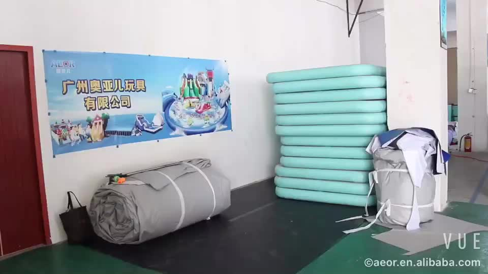 Factory Outlet Gymnastic Equipment Inflatable Air Tumbling Mat /Inflatable Air Track For Sale/ Air Track Gymnastics Equipment