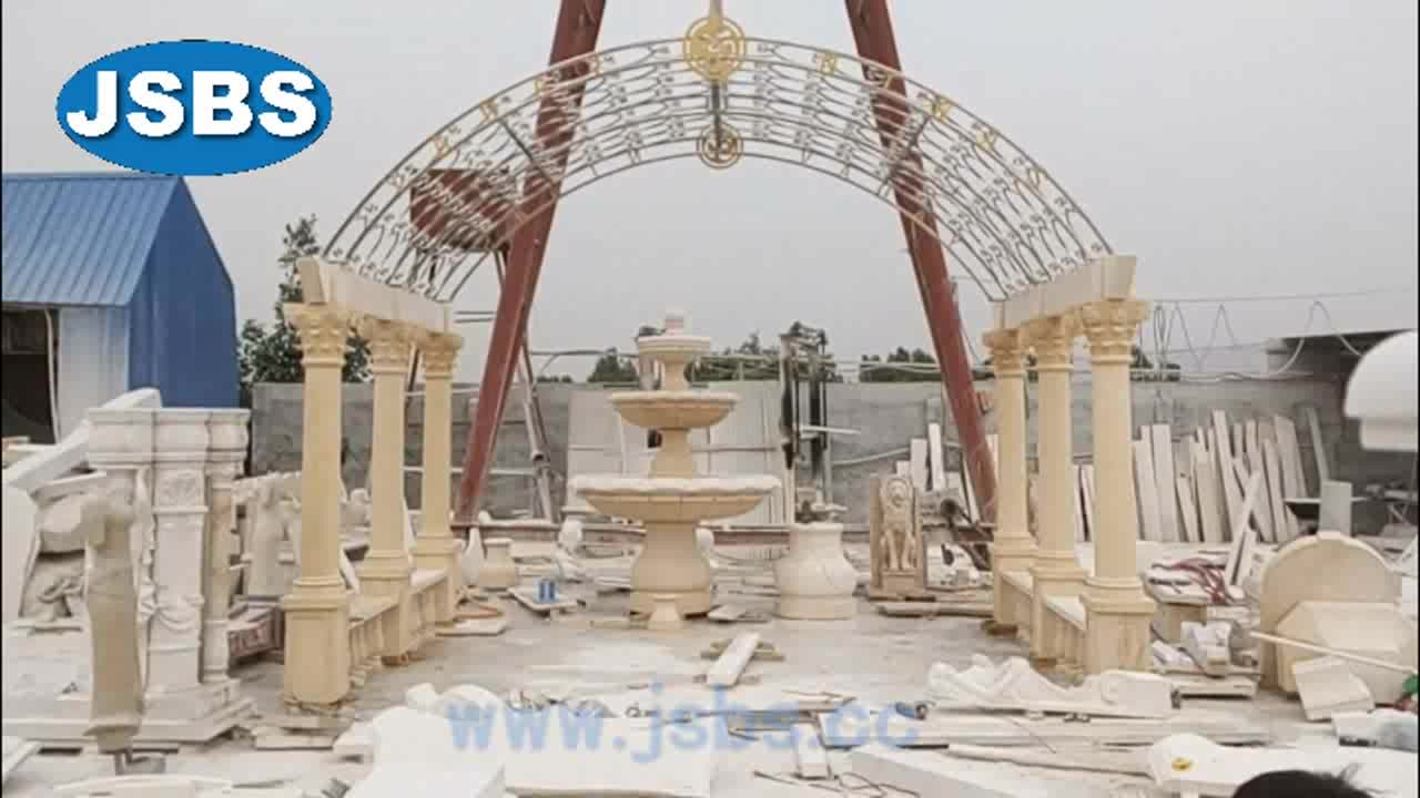sale cheap decoration marble large outdoor gazebo