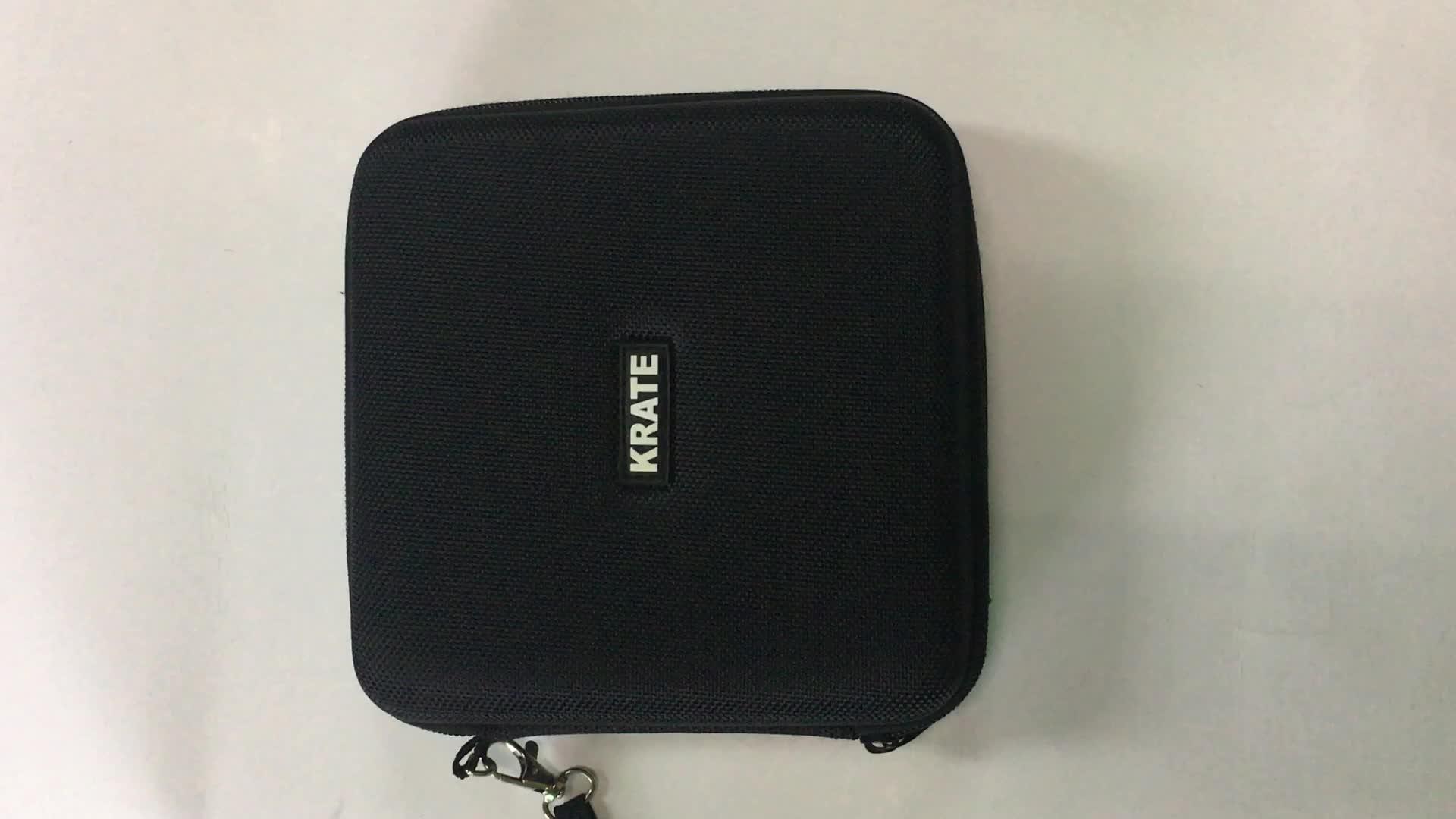 Handle 1680D square shape carrying EVA digital hardshell case